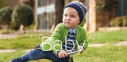 Moda infantil, ropa de bebé, niño y niña <b>Mayoral</b>