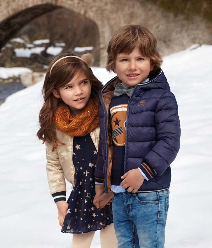 Выбор зимней одежды для детей разного возраста