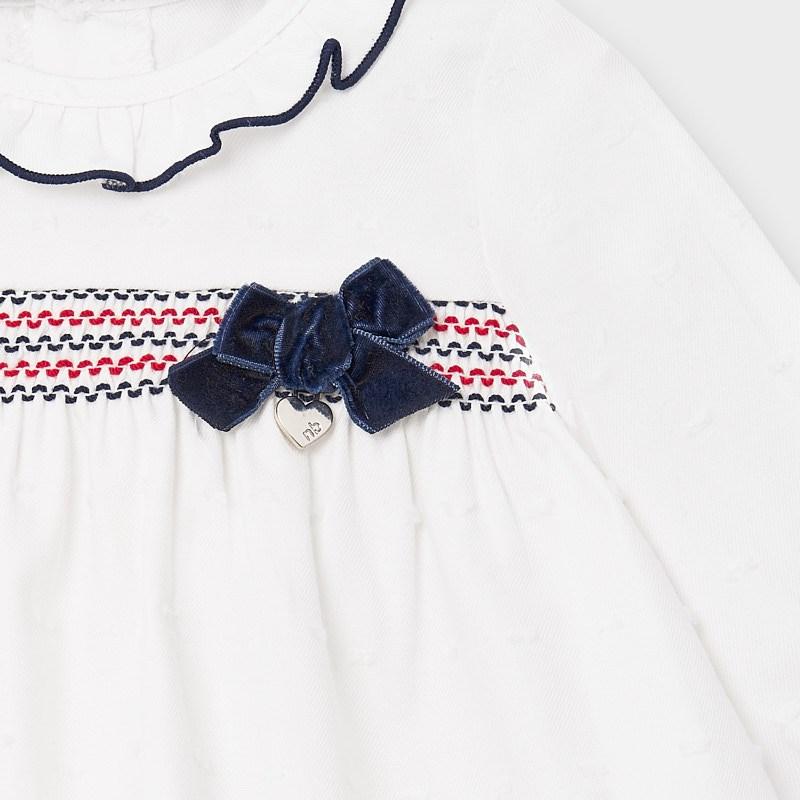 Completo culotte e blusa neonata