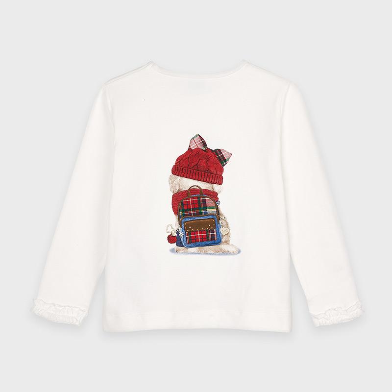 Koszulka piesek dla dziewczynki Carmine