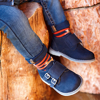 Velcro shoes baby boy Navy blue | Mayoral ®
