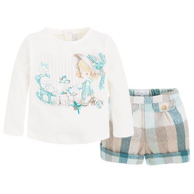 Conjunto de bermuda y camiseta Jade