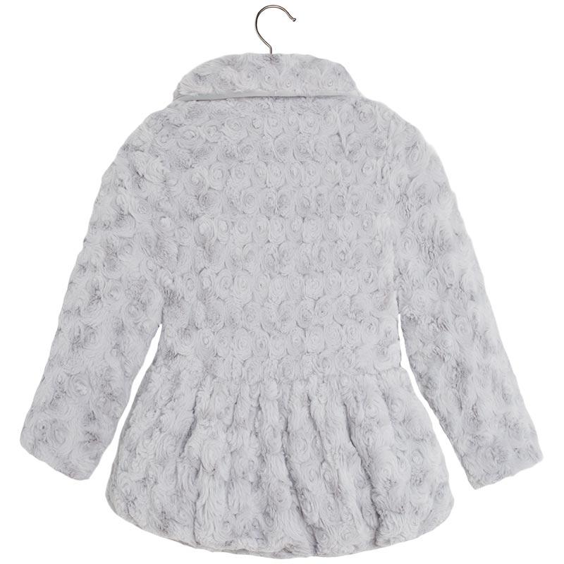 Abrigo gris nina mayoral
