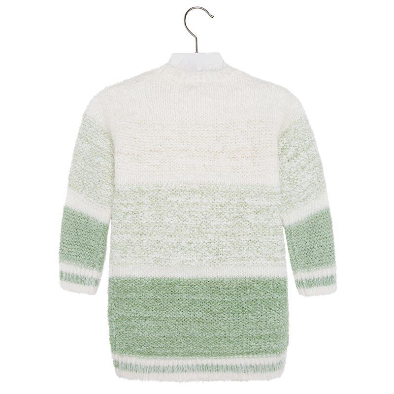 b874a1c17c Mayoral Little Girls 2T-9 Colorblock Stripe Soft Fuzzy Knit Sweater ...