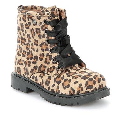 Botín leopardo Naranjas