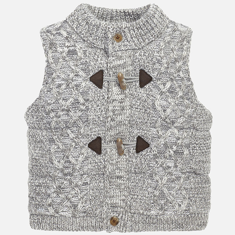 Padded knit vest Mayoral