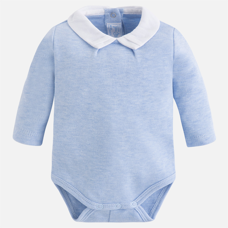 Body extérieur bébé garçon col chemise Mayoral