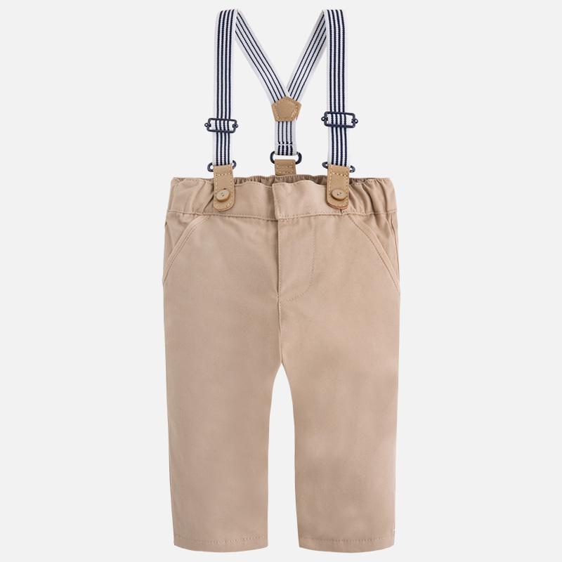 Pantalon bretelles bébé garçon Mayoral