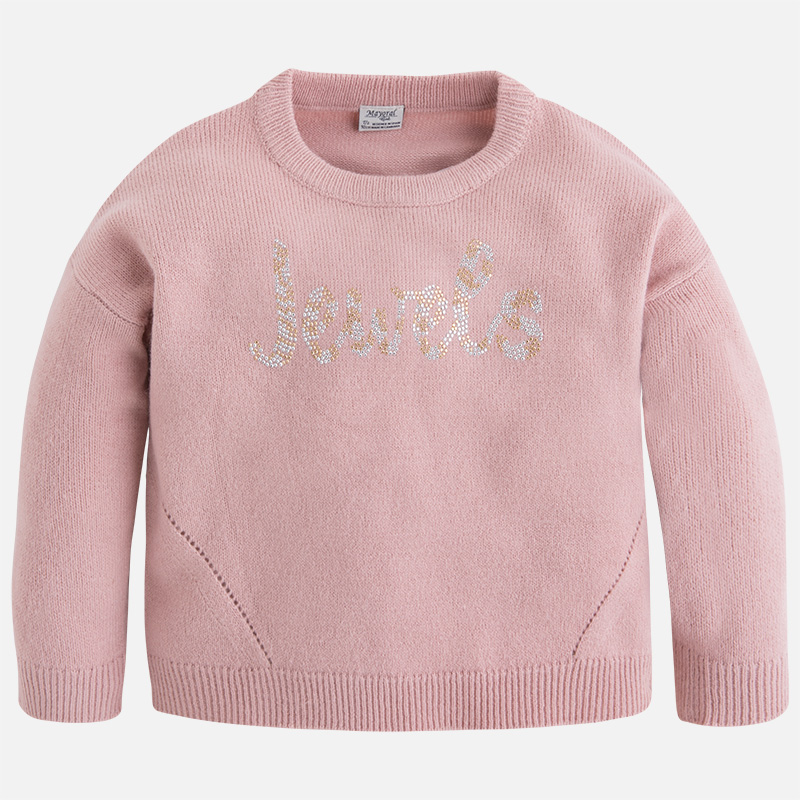 Pull acrylique fille Mayoral