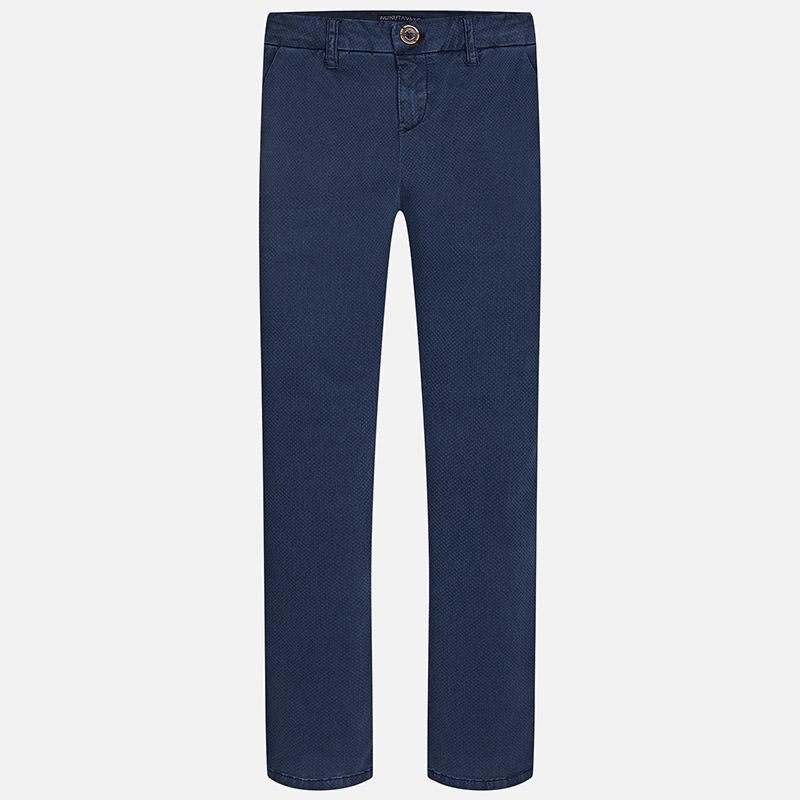 Pantalon chino imprimé garçon Mayoral
