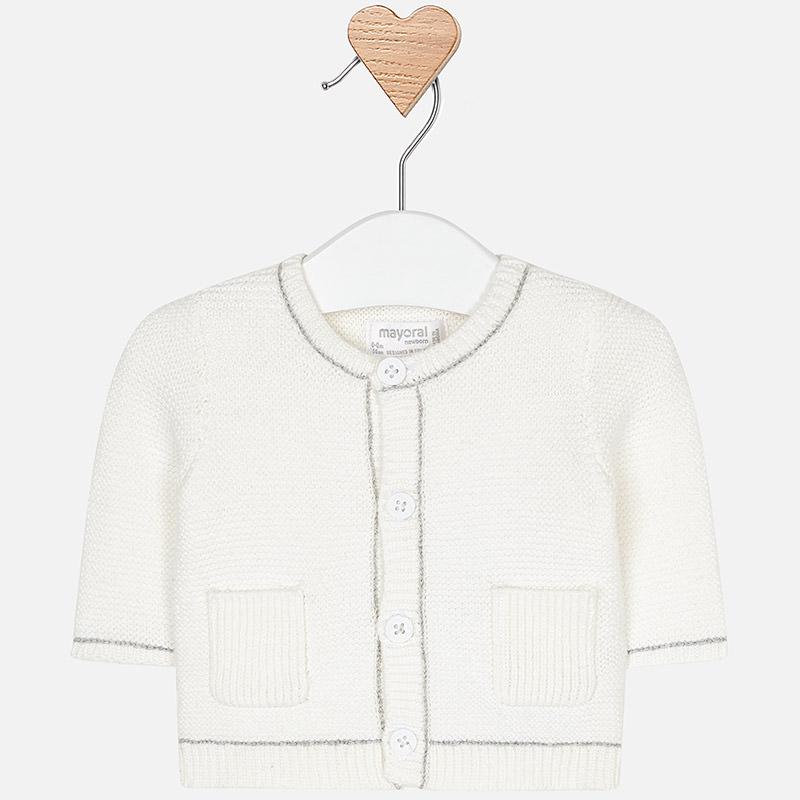 Chaqueta tricotosa para bebé niño Crudo - Mayoral