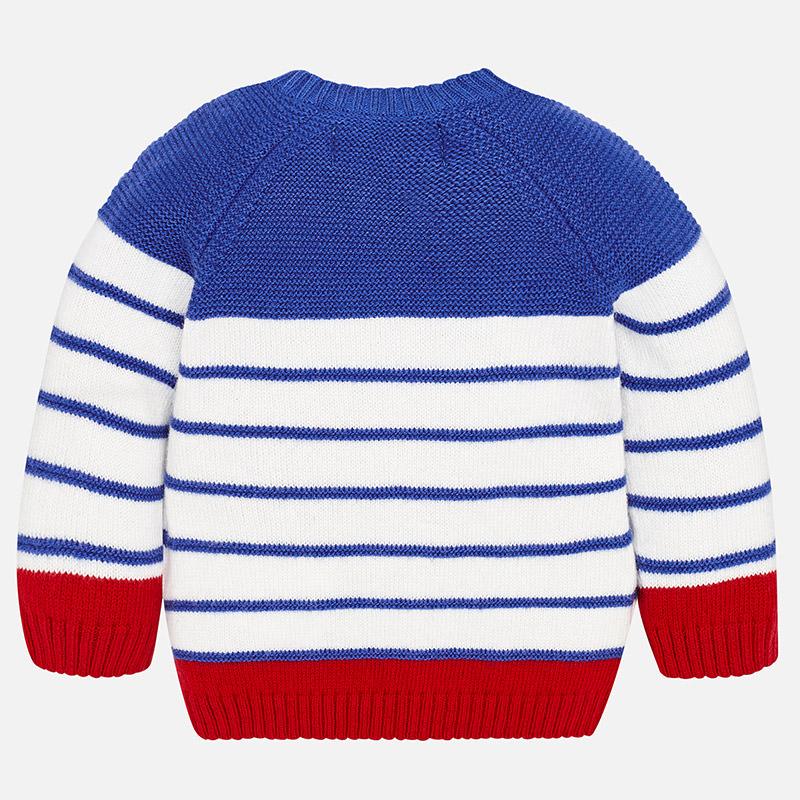 Jersey a rayas para bebé niño Red - Mayoral