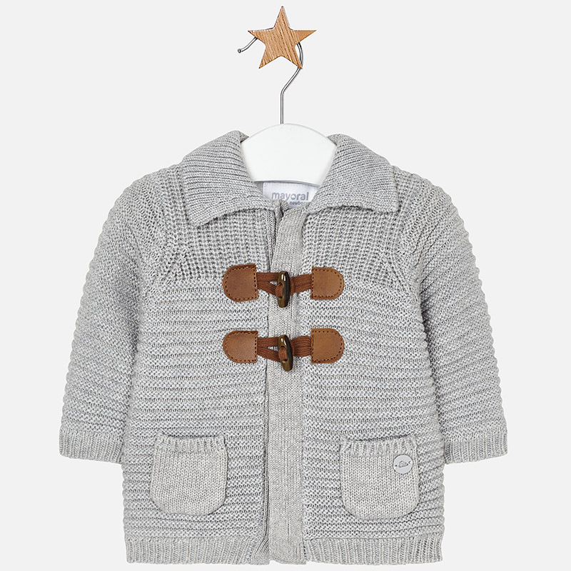 Chaqueta tricot para bebé niño Vapor vigoré - Mayoral