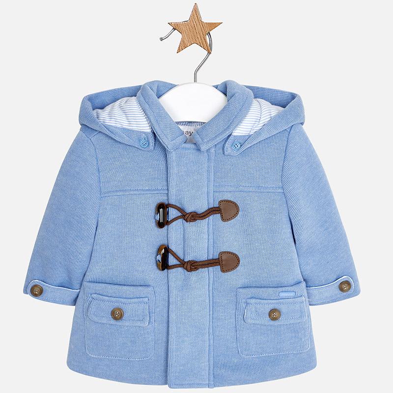 Jungen Baby Düffelmantel Blau Vigoré - Mayoral