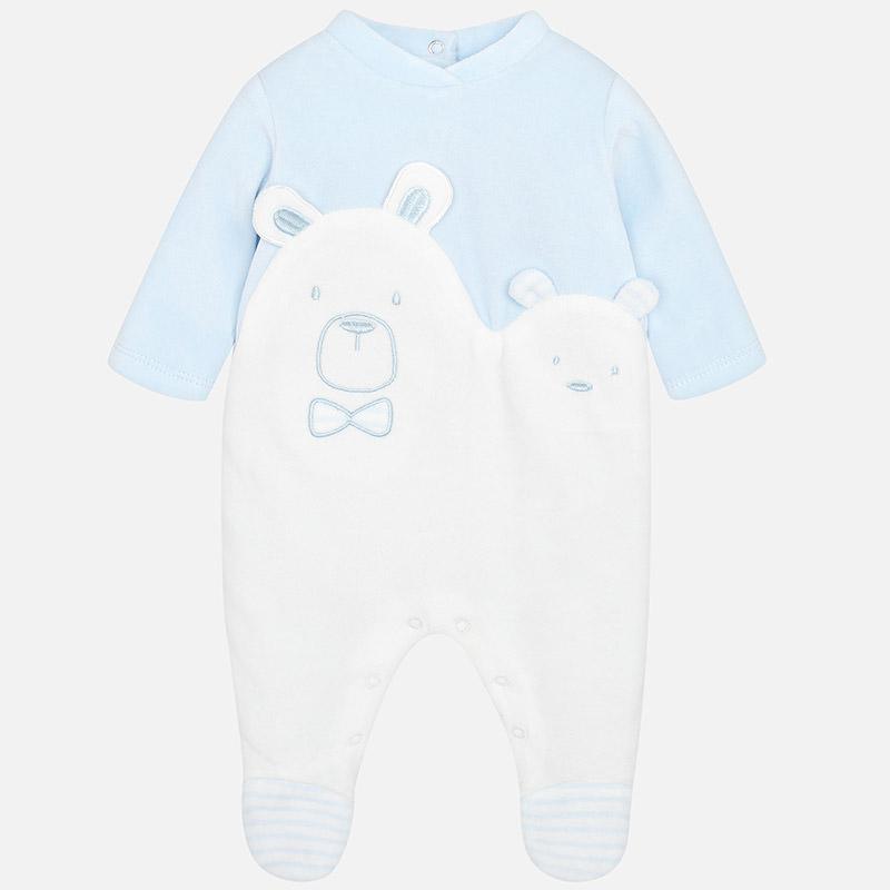 Πιτζαμάκι συνδυασμένο για μωρό αγόρι Σιέλ - Mayoral 55e738ee3b2