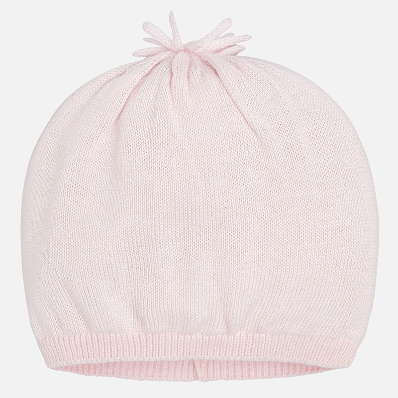 Gorro tricot para bebé menino Rosa Baby - Mayoral cd89f73fdfb