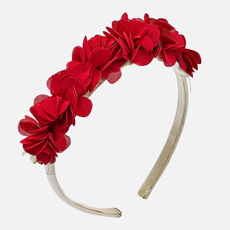 Diadema flores para niña Rojo - Mayoral