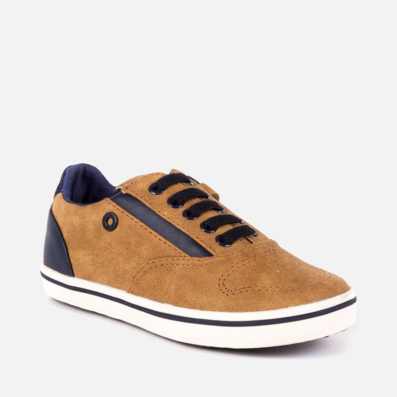 Zapato city de vestir para niño Cámel - Mayoral