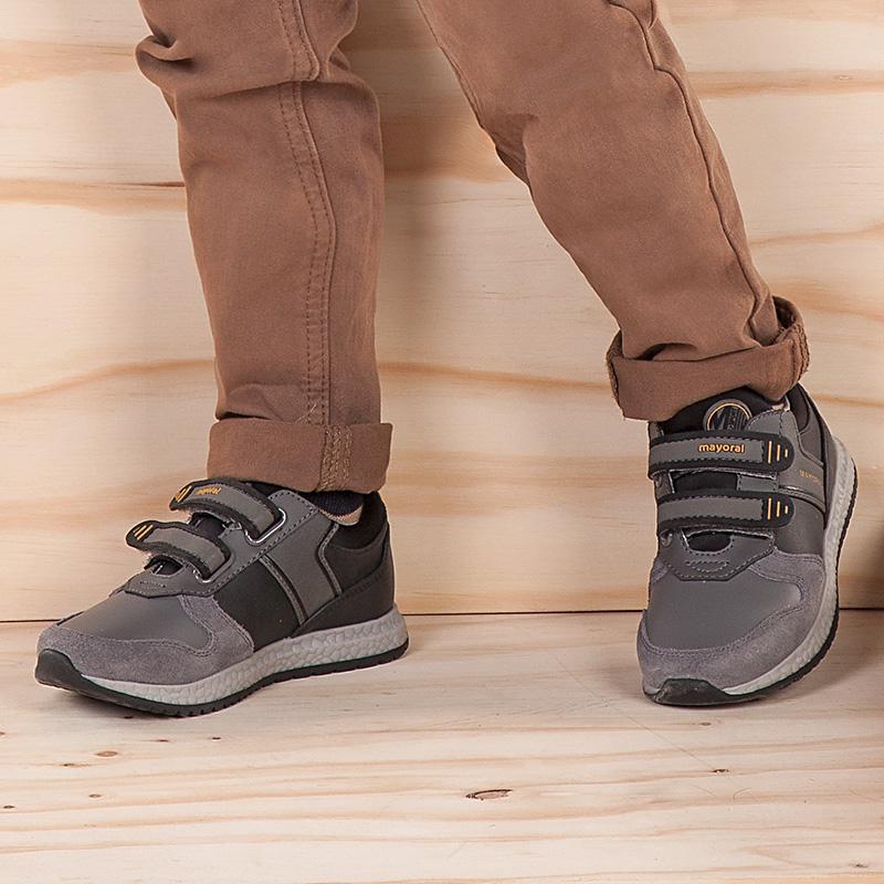 Sapatilhas Running menino Cinza escuro - Mayoral 3e386744a3425