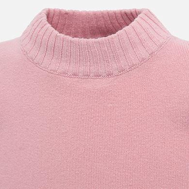3ee59d54932 Basic mock neck jumper for baby girl Pink - Mayoral