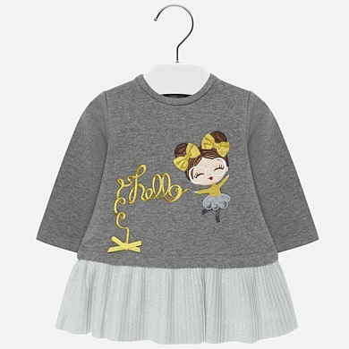 90f9210a3 Vestidos para bebé niña - Mayoral