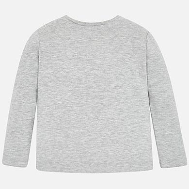 Maglietta manica lunga principessa bambina Argento Vigoré | Mayoral ®