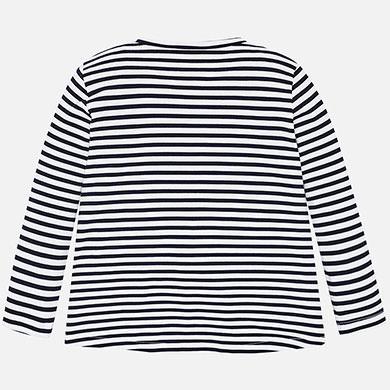 best service 9f0d2 d73f9 Langarm Shirt Mädchen Prints Marine - Mayoral