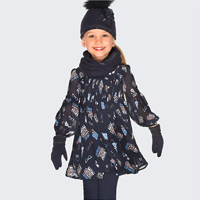 d842fbc55 Vestidos para niña - Mayoral