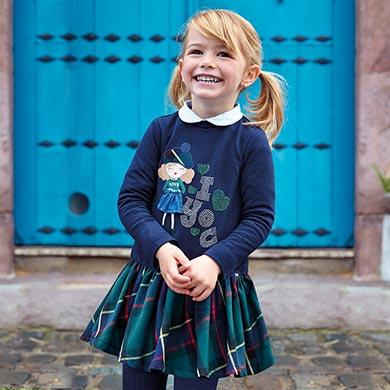 9157c24f9 Vestidos para niña - Mayoral
