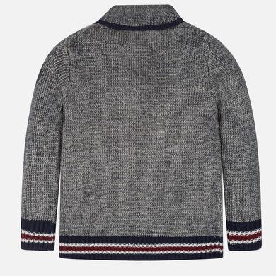 Pullover Jungen Aufdruck Marinemischung Mayoral