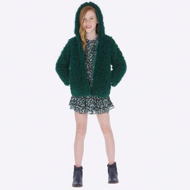 outlet store a38d6 cdb52 Abbigliamento online cappotti per ragazza | MAYORAL