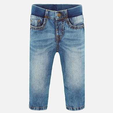 Mayoral Baby Jungen Jeans-Shorts Kurze Hose Bermuda in blau