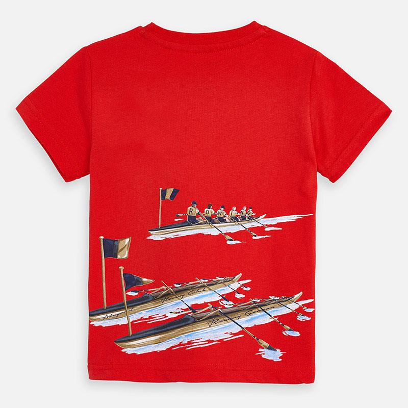 Koszulka dla chłopca Hibiskus