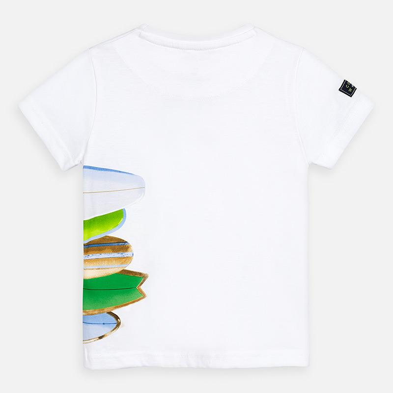 Koszulka dla chłopca Biały