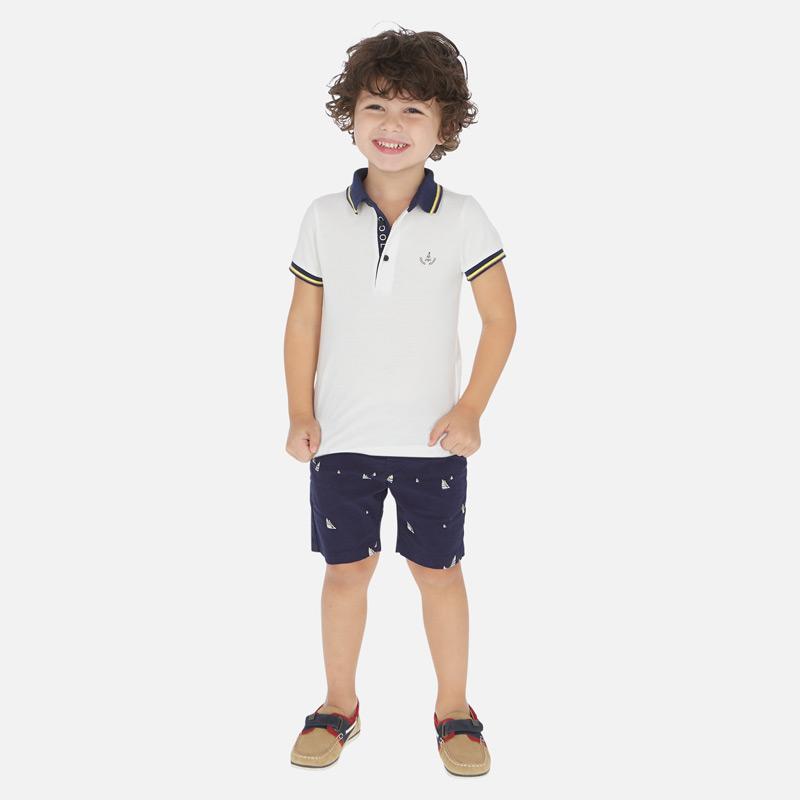 Mayoral Bermuda Bianco da Bambino