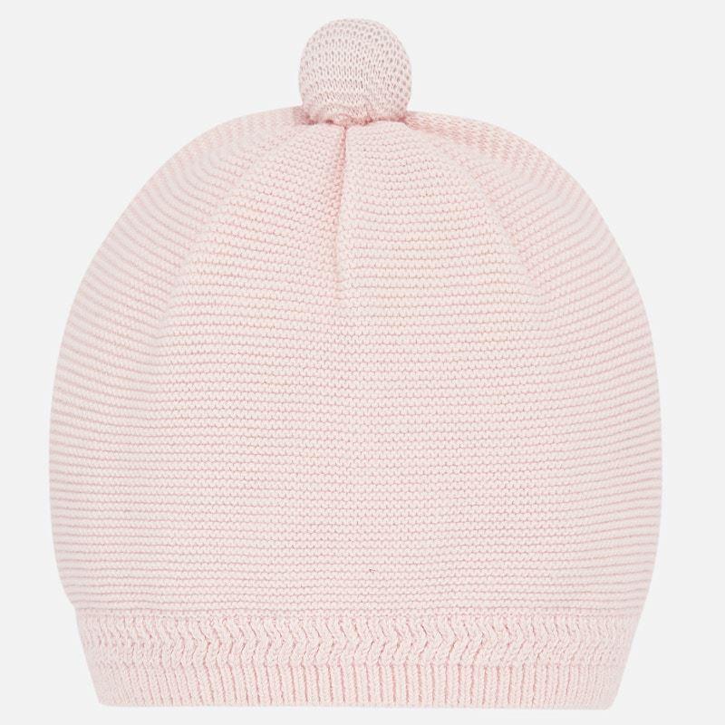 Mayoral Hat /& Scarf Set Rose Pink