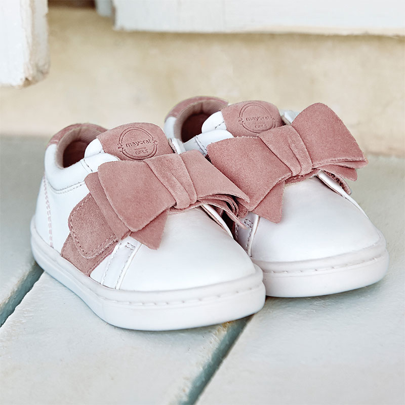 BLACK GREY PINK BABY GIRLS REAL LEATHER LINED SHOES TRAINERS CHEAP NEW UK SIZE