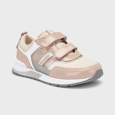 Buty Sportowe Na Rzepy Dla Dziewczyny Pudrowy Mayoral
