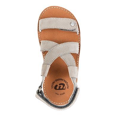 Sandałki moda Szary