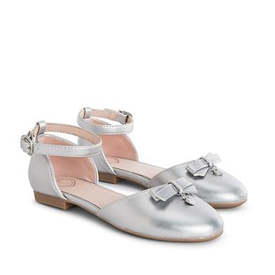 Buciki moda Srebrny