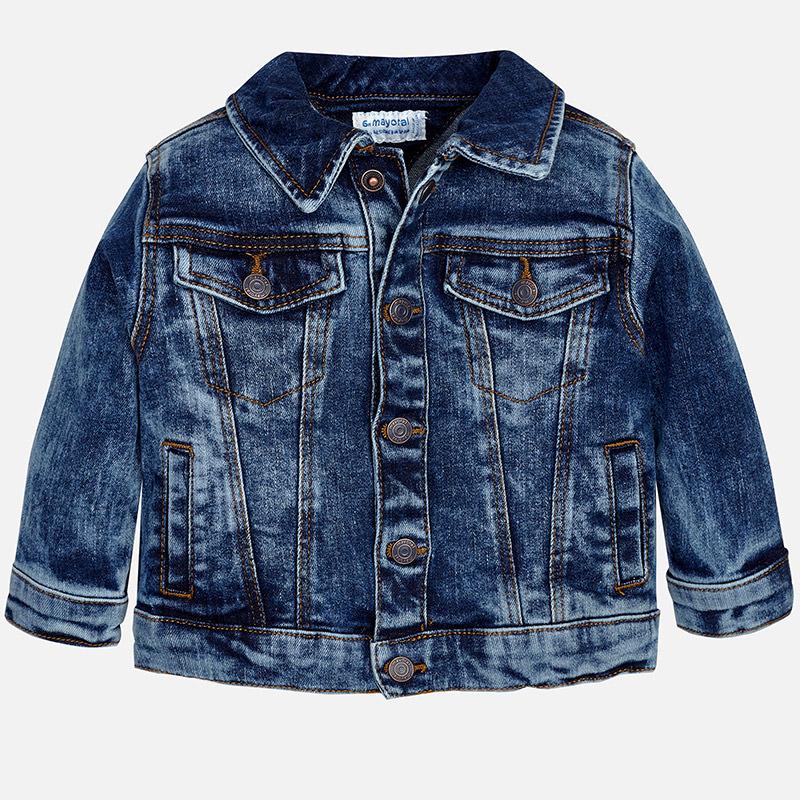 Image of Baby boy denim jacket Mayoral