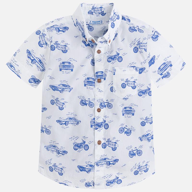 Camisa estampada con camiseta para niño Klein - Mayoral