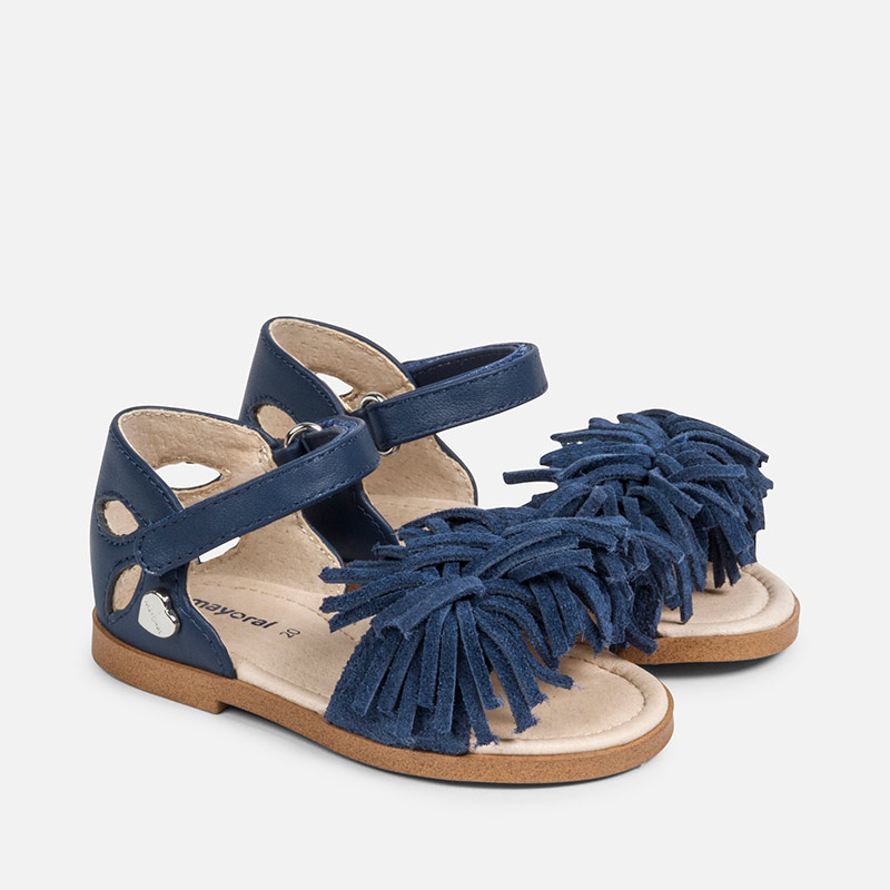 Sandali blu navy per bambina mNY7Wn
