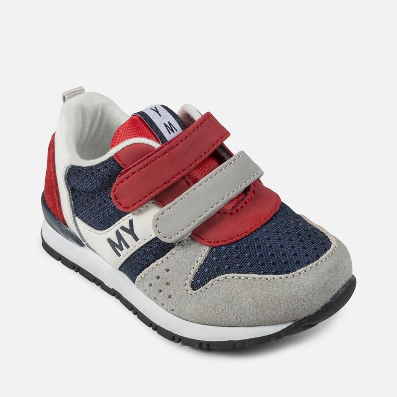 Sneakers blu navy con chiusura velcro per bambini 5tWWfPPE