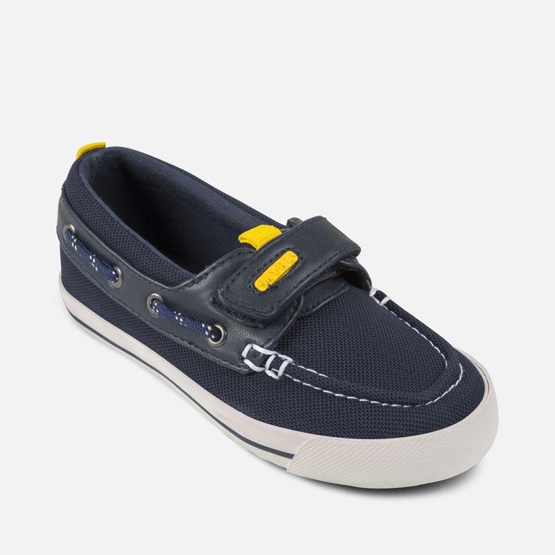 Sneakers blu navy con chiusura velcro per bambini Dek rFTShG