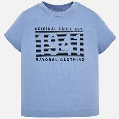 Camiseta manga corta 1941 bebé niño 0bcae624a2402