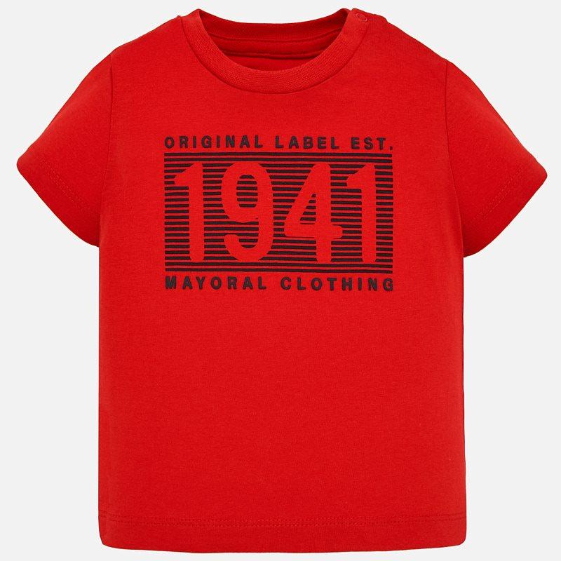 Μπλούζα κοντομάνικη Κόκκινο - Mayoral 1abb4ac68d6