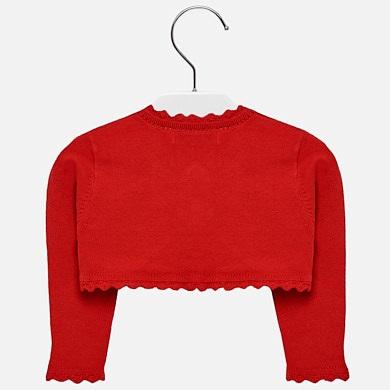 Short cardigan for baby girl Rojo - Mayoral