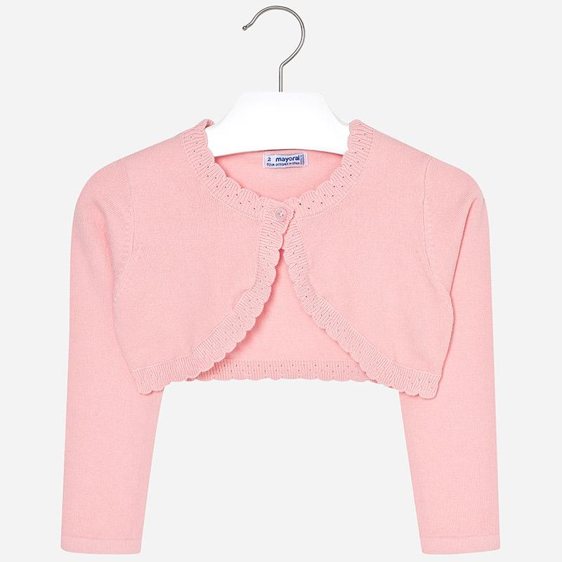 5668dfb9fe Bolerko dla dziewczynki Róż - Mayoral