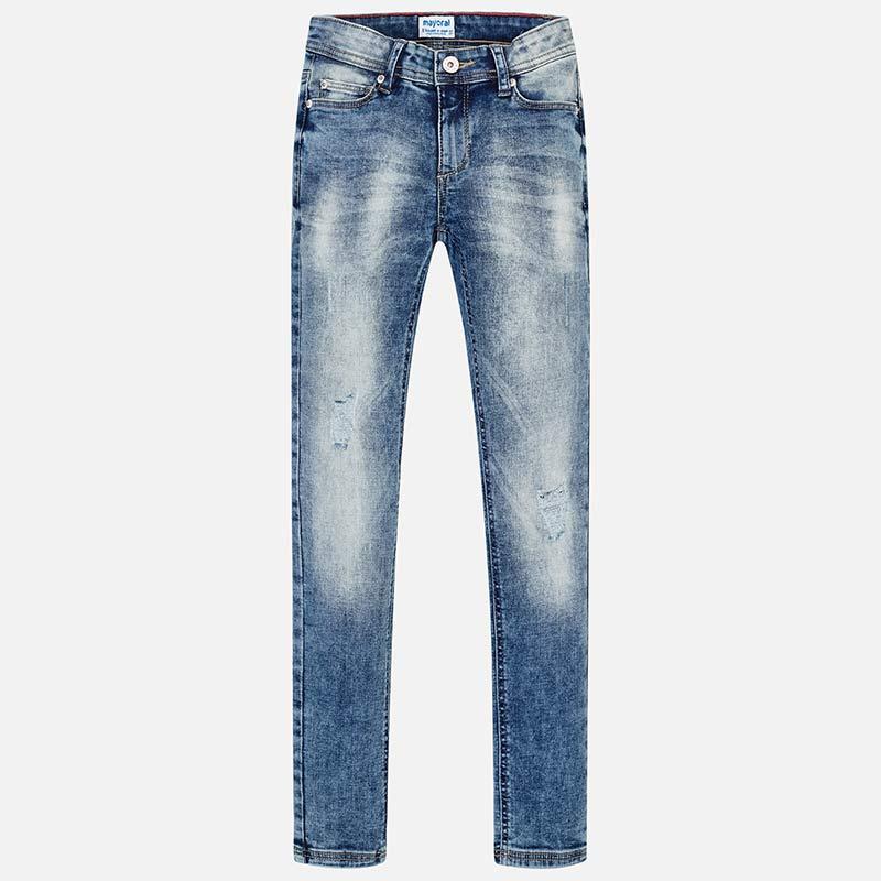 f81aa5cb06 Pantalone slim fit basico bambina Jeans - Mayoral